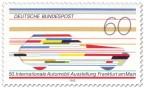 Stamp: Futuristisches Auto (IAA Frankfurt)