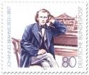 Stamp: Johannes Brahms (Komponist)