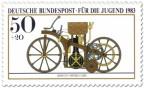 Stamp: Reitwagen Daimler Maybach