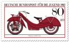Stamp: Rotes Megola Sport Motorrad