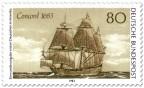 Stamp: Segelschiff Concorde
