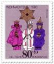 Stamp: Sternsinger Kostüme (Weihnachtsmarke 1983)