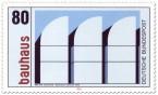 Stamp: Walter Gropius Bauhaus Archiv