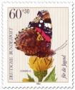 Stamp: Admiral Schmetterling