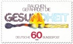Stamp: Abbrennendes Streichholz (Anti-Raucher-Kampagne)