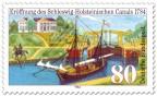 Stamp: 200 Jahre Eider-Kanal in Schleswig-Holstein