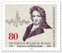 Stamp: Friedrich Wilhelm Bessel Astronom Mathematiker