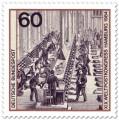 Stamp: Hauptpostamt Berlin: Briefsortierung um 1880