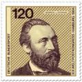 Stamp: Heinrich von Stephan (Weltpostverein)