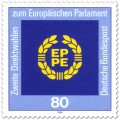 Stamp: Logo des Europäischen Parlaments