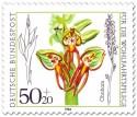 Stamp: Ohnhorn (Orchidee)