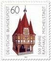 Stamp: 500 Jahre Rathaus Michelstadt