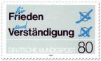 Stamp: Stimmzettel: für Frieden und Verständigung