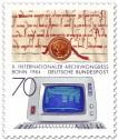 Stamp: Urkunde aus dem Mittelalter und Computer