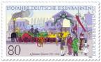 Stamp: Adler Eisenbahn Johannes Scharrer