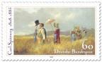 Stamp: Sonntagsspaziergang von Carl Spitzweg (Maler)