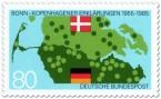 Stamp: Grenze von Deutschland und Dänemark