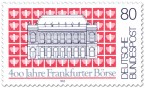 Stamp: 400 Jahre Frankfurter Börse