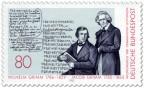 Stamp: Gebrüder Wilhelm und Jacob Grimm