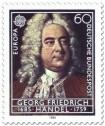 Stamp: Georg Freidrich Händel (Komponist)