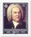 Stamp: Johann Sebastian Bach (Komponist), 1985