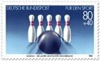 Stamp: Kegeln (Für den Sport)