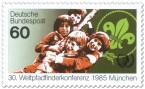 Stamp: Kinder - Weltpfadfinderkonferenz