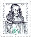 Stamp: Philipp Jakob Spener (Begründer der Heraldik)
