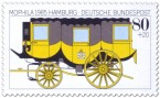 Stamp: Postkutsche (Gelber Wagen)