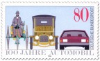Stamp: Automobil Briefmarke
