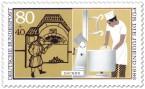 Stamp: Bäcker Brot Backen