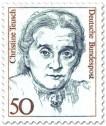 Stamp: Christine Teusch (Politikerin)