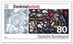 Stamp: Denkmalschutz - Glasfenster