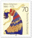 Stamp: Mary Wigman (Tänzerin)