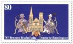 Stamp: 1200 Jahre Bischofssitz Bremen