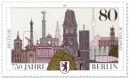 Stamp: Briefmarke 750 Jahre Berlin (Sehenswürdigkeiten)