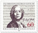 Stamp: Christoph Willibald Gluck(Komponist)