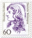Stamp: Dorothea Erxleben Ärztin