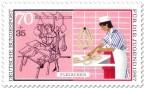 Stamp: Fleischer, Schlachter