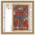 Stamp: Geburt Christi (Weihnachtsmarke 1987)