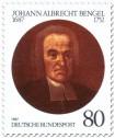 Stamp: Johann Albrecht Bengel (Theologe)