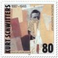 Stamp: Kurt Schwitters (Künstler)