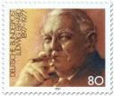 Stamp: Ludwig Erhardt (Bundeskanzler)