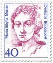 Stamp: Maria Sibylla Merian (Künstlerin)