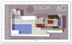 Stamp: Dt. Pavillon Barcelona von Ludwig Mies van der Rohe