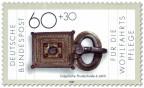 Stamp: Prunkschnalle, ostgotisch (6. Jahrhundert)