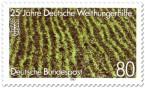 Stamp: Reisfeld - Deutsche Welthungerhilfe