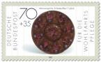 Stamp: Scheibenfiebel der Merowinger (7. Jahrhundert)