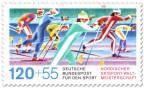 Stamp: Skilanglauf (WM 87)