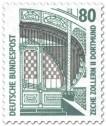 Stamp: Hauptportal der Zeche Zollern II in Dortmund